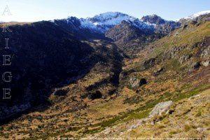 Pic de Mille Roques - Vallée de Calvière vus de Massayre (1900m)