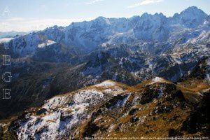 Massif du Rulhe du pic de Lauzate (2414m)