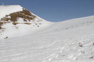 Touron de Lardas (1654m) - Col de Rose (1615m)