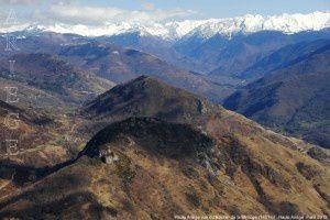 Haute Ariège vue du Rocher de la Mirouge (1451m)