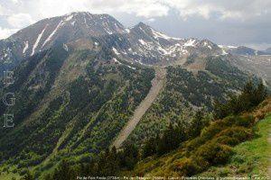 Pic Font Freda (2738m) - Pic de l'Estagnol (2586m)