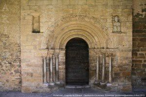 Portail sud - Chapelle du Calvaire - Castillon en Couserans