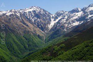 Pic de Cornave - Vallée d'Orle vus du pic de Courbayran