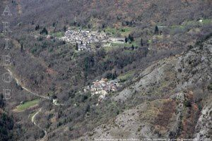 Suc et Sentenac vu du pic de Risoul (1373m)