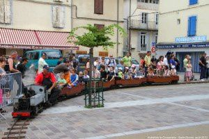 Petit train - Place Verdun
