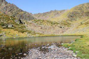 Petit estany de Ransol (2410m)
