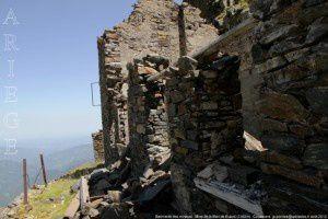 Bâtiments des mineurs - Mine de la Mail de Bulard (2350m)