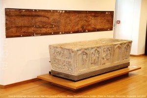 Cuve de sarcophage (Abbaye Saint-Antonin - Pamiers) - Musée départemental de l'Ariège - Palais des Evêques