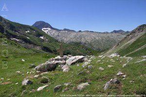 Col de la Crouzette (2237m) - Mont Valier (2838m)