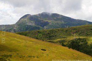 Mont Fourcat vu de la jasse de la Taula (1640m)