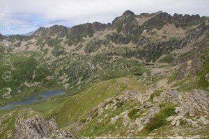 Cirque du Siscar depuis le pic de Nérassol (2633m)