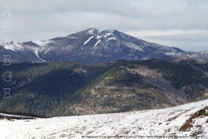 Montagne de la Frau depuis le pic Doulent (1780m)