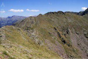 Cap de la Coste Grande vu du pic de Cabayrou (2733m)