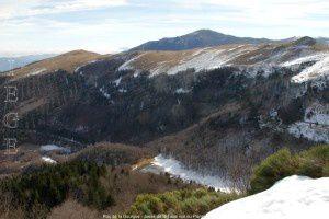 Roc de la Gourgue - Jasse de Taula vus du Planas (1638m)