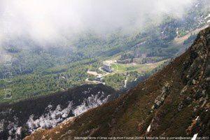 Station des Monts d'Olmes vue du mont Fourcat (2001m)