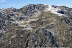Etang de Cabaillère vu du pic de Pradel (2378m)