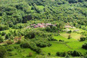 Carol vu du château de Teyrac - Roquefort-les-Cascades