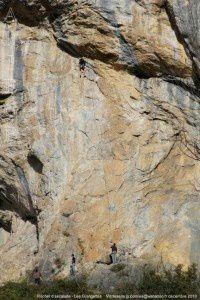 Les Grangettes - Rocher d'escalade