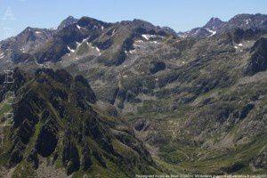 Peyregrand vu du pic de Bèze (2380m)