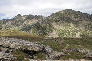 Pic d'Escobes - Pic de l'Albe depuis le pic de Nérassol (2633m)