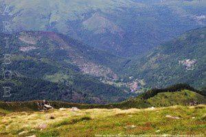 Vallée de Siguer vue du pic de Baljésou (2288m)