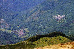 Siguer - Gesties vus du pic de Baljésou (2288m)