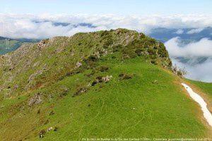 Pic du Midi de Bordes vu du tuc des Camaus