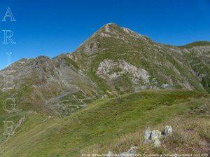 Pic de Montaud depuis le pic de Mortabère (2257m)