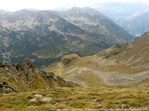 Clote Ladou du sommet du pic d'Auriol (2695m)