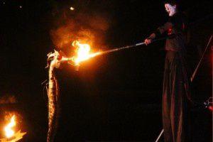Dompteurs de feu - Compagnie Akouma - Nuit de la préhistoire