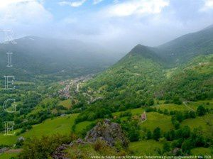 Vallée de Saurat vue de Montorgueil