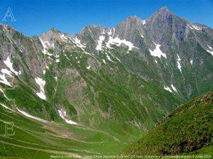Jasse d'Aula - Massif du mont Valier depuis le Cour Vic (2119m)