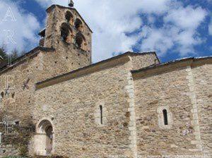 Eglise romane de Salau