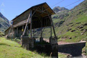 Départ téléphérique EDF - Etang d'Izourt (1647m)