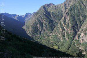 Vallée d'Artiès vue du Chemin Horizontal (1600m)
