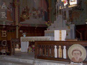 Chapelle Saint-Antoine du Montcalm - Hameau de Marc (1010m) - Auzat