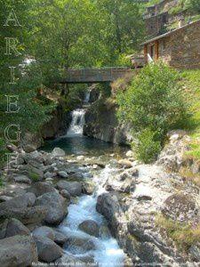 Ruisseau de Vicdessos - Hameau de Marc (1010m) - Auzat