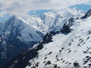 Massif du Montcalm vu du Far