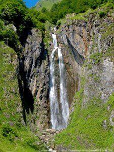 Cascade d'Arcouzan (1101m)