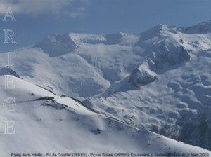 Etang de la Hilette - Pic de Couillac - Pic de Soune