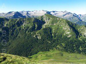 Port de Lers (1517m) - Mont Ceint (2068m)