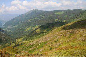 Pic de Bernes vu des Anglades (1550m)