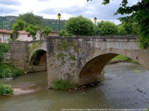 Le Mas d'Azil - Pont du XVème siècle