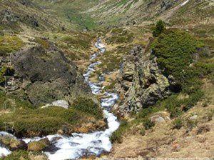 Ruisseau de l'étang Blaou (2130m)