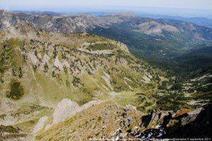 Vallée de Barbouillère du Roc Blanc (2542m)