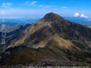 Pic nord de Cabaillère  du pic de Cabaillère (2555m)