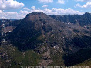 Pic de la Coume d'Enfer du pic de Cabaillère (2555m)