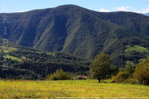Vallée de Riverinert vue du chemin de crête (850m)