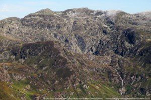 Pic des Trois Seigneurs - Etang d'Arbu vus du mont Ceint (2088m)