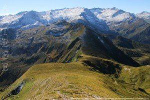 Bassies vu du mont Ceint (2088m)